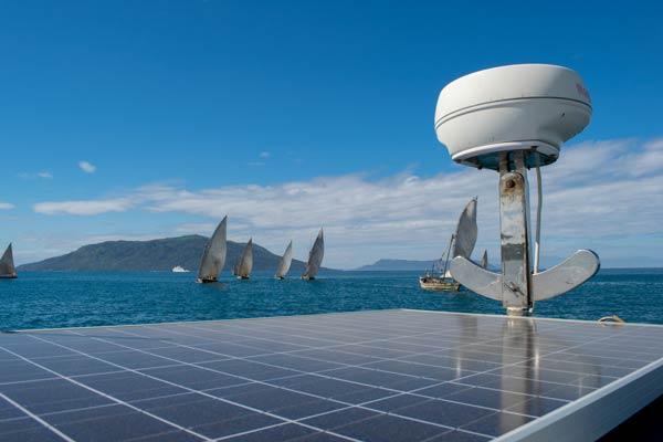 Solarstrom an Bord von Axiom