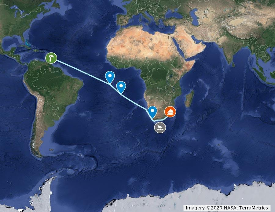 Mit Segelboot über den Atlantik und den Panamakanal