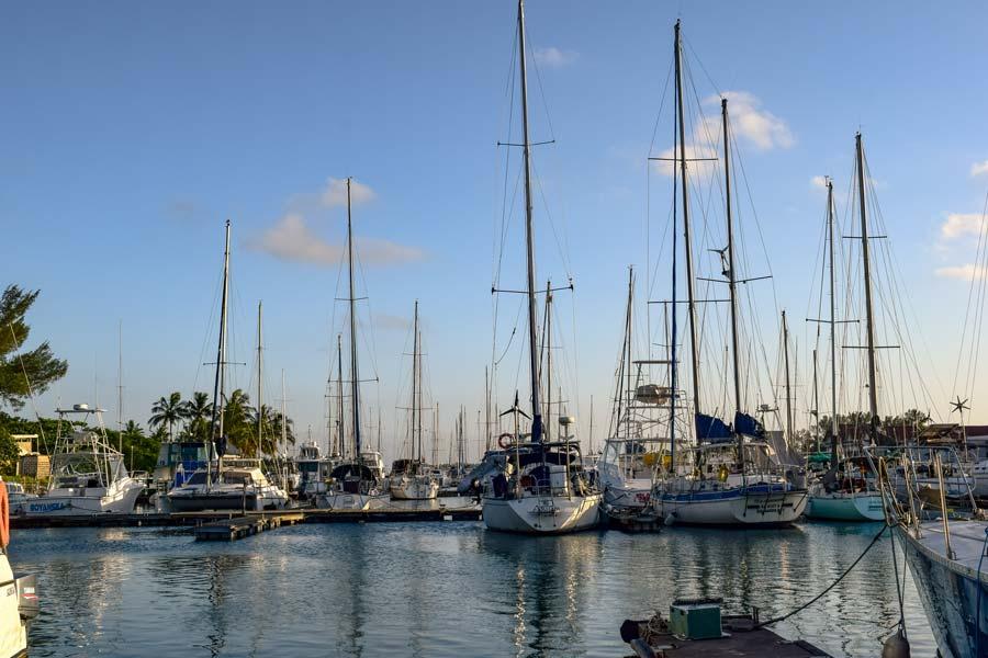 Segelboot Axiom vor Refit im Wasser